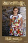 Lady Godiva apron sewing pattern from Abbey Lane Quilts