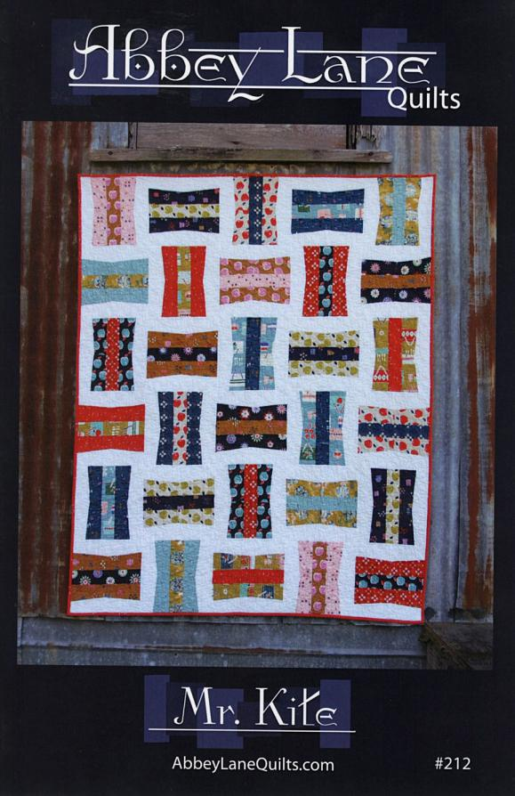 Mr. Kite quilt sewing pattern from Abbey Lane Quilts
