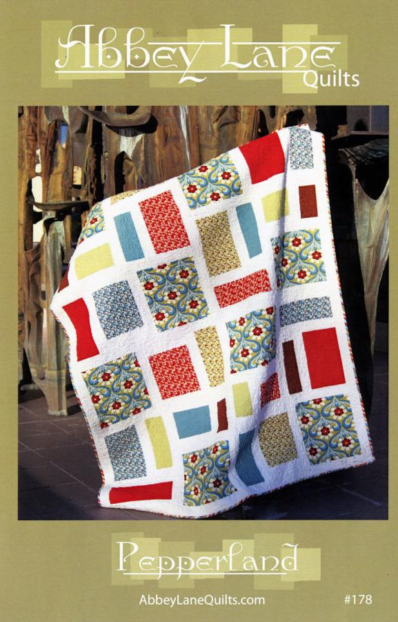 Pepperland quilt sewing pattern from Abbey Lane Quilts