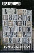 Double Decker quilt sewing pattern from Abbey Lane Quilts