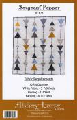 Sergeant Pepper quilt sewing pattern from Abbey Lane Quilts 1