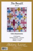 The Benefit quilt sewing pattern from Abbey Lane Quilts 1