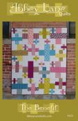 The Benefit quilt sewing pattern from Abbey Lane Quilts