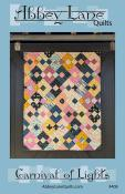 Carnival of Lights quilt sewing pattern from Abbey Lane Quilts