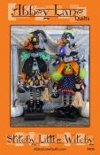 Stitchy Little Witchy sewing pattern from Abbey Lane Quilts