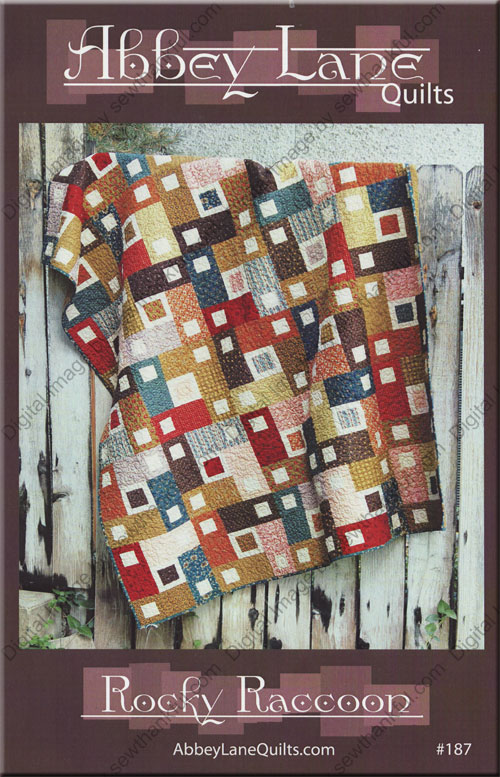 Rocky Raccoon Quilt Sewing Pattern From Abbey Lane Quilts