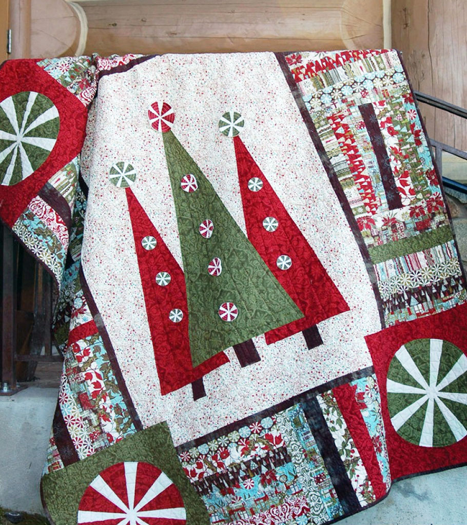 Christmas Quilt Patterns.Step Into Christmas Quilt Sewing Pattern From Abbey Lane Quilts