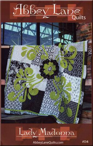 Lady Madonna quilt sewing pattern from Abbey Lane Quilts