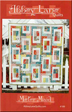 The Meter Maid quilt sewing pattern from Abbey Lane Quilts