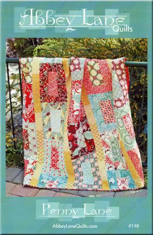 Penny Lane quilt sewing pattern from Abbey Lane Quilts