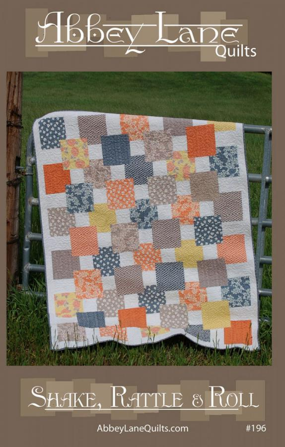Shake, Rattle & Roll quilt sewing pattern from Abbey Lane Quilts