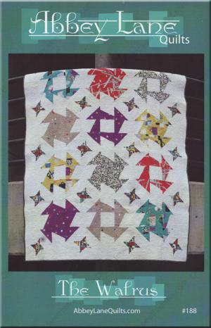 The Walrus quilt sewing pattern from Abbey Lane Quilts