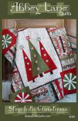 Step Into Christmas quilt sewing pattern from Abbey Lane Quilts