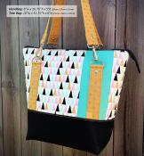 Classic Carryall Handbag & Tote sewing pattern from Andrie Designs 2
