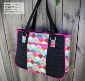 Goin Uptown Tote sewing pattern from Andrie Designs 2
