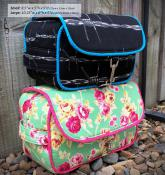 Hang About Toiletry Bag sewing pattern from Andrie Designs 2