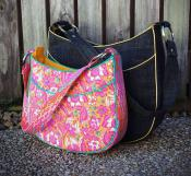Roll With It Tote sewing pattern from Andrie Designs 2