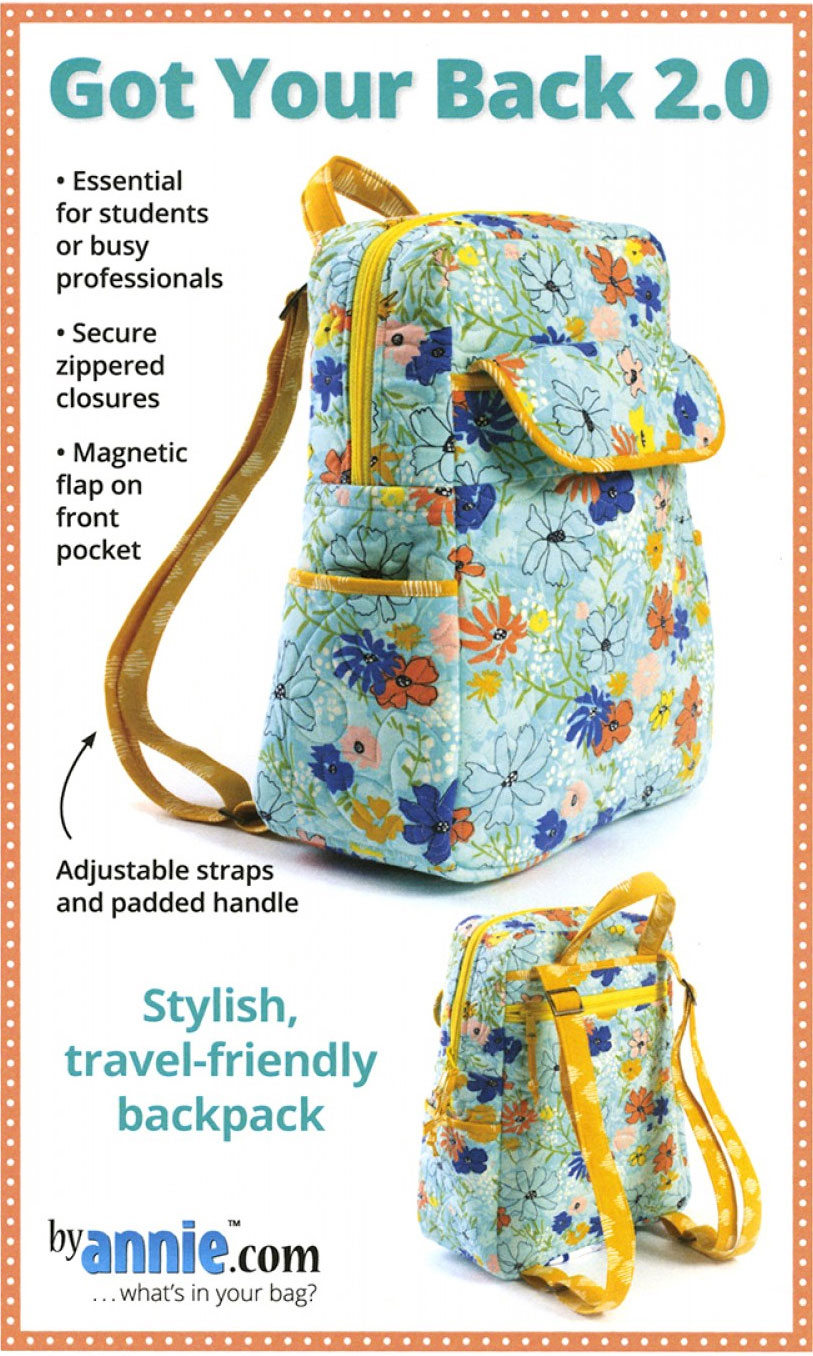 Got Your Back 2 0 Sewing Pattern From Annie Unrein