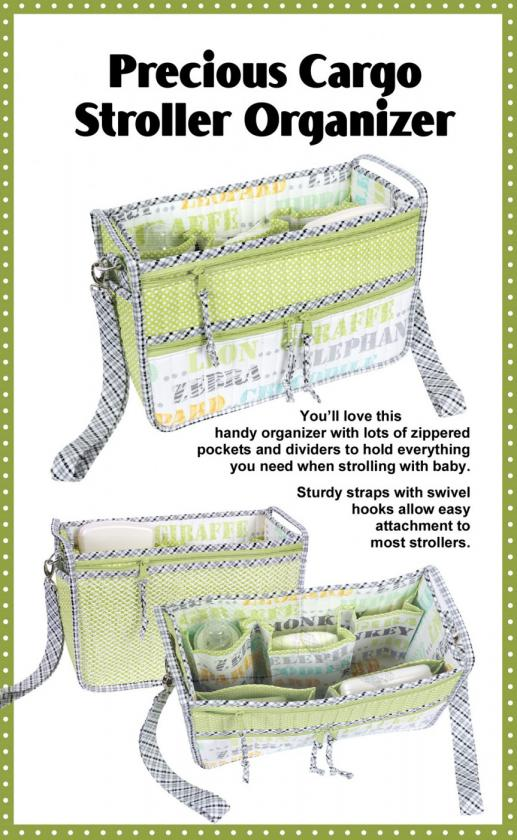 Precious Cargo sewing pattern by Annie Unrein