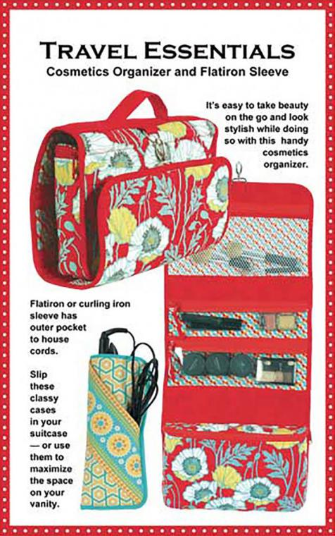 Travel Essentials sewing pattern by Annie Unrein