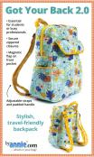 Got Your Back 2.0 sewing pattern from Annie Unrein