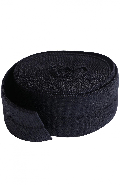 Fold-over-elastic-annie-unrein-black