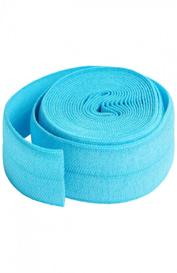 Fold Over Elastic by Annie Unrein - Parrot Blue