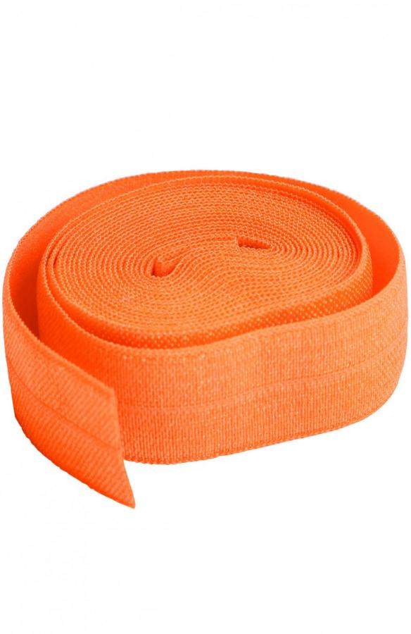 Fold Over Elastic by Annie Unrein - Pumpkin