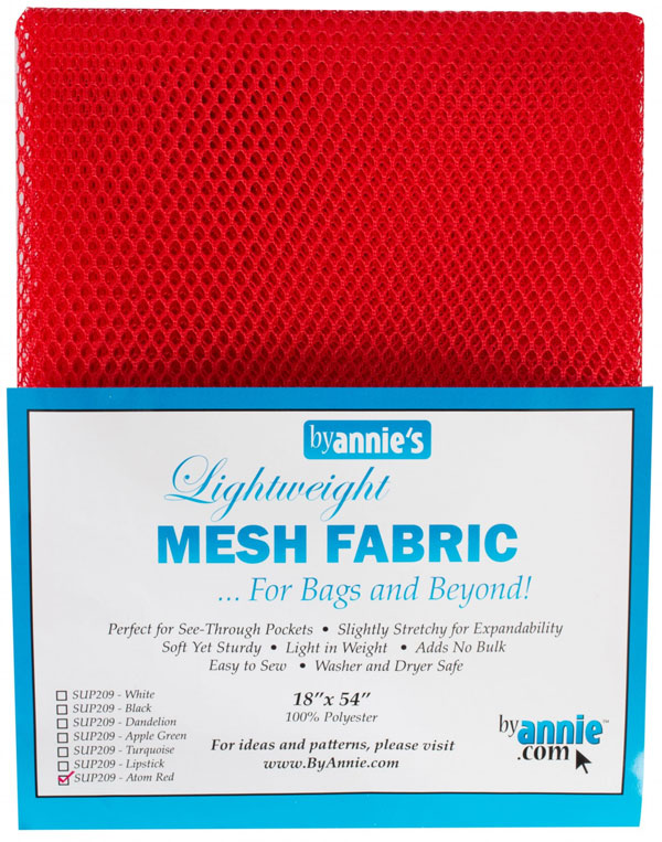 Polyester-Mesh-Fabric-Annie-Unrein-Atomic-Red-front