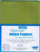 Polyester Mesh Fabric by Annie Unrein - Apple Green