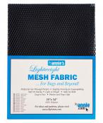 Polyester Mesh Fabric by Annie Unrein - Navy