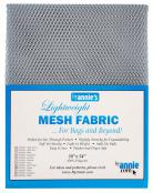 Polyester-Mesh-Fabric-Annie-Unrein-Pewter-front