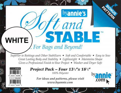 Soft and Stable Project Pack of 4 by Annie Unrein - White