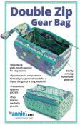 Double Zip Gear Bags sewing pattern by Annie Unrein