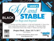 Soft and Stable Project Pack of 4 by Annie Unrein - Black