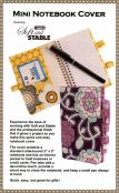 Mini Notebook Cover sewing pattern by Annie Unrein