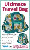 Ultimate Travel Bag sewing pattern by Annie Unrein