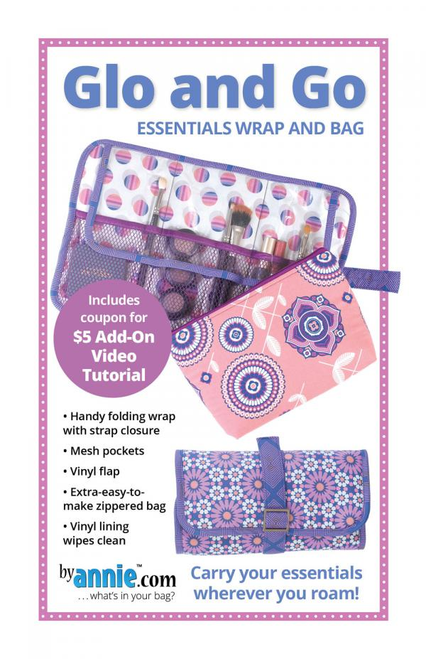 Glo and Go Bag sewing pattern by Annie Unrein