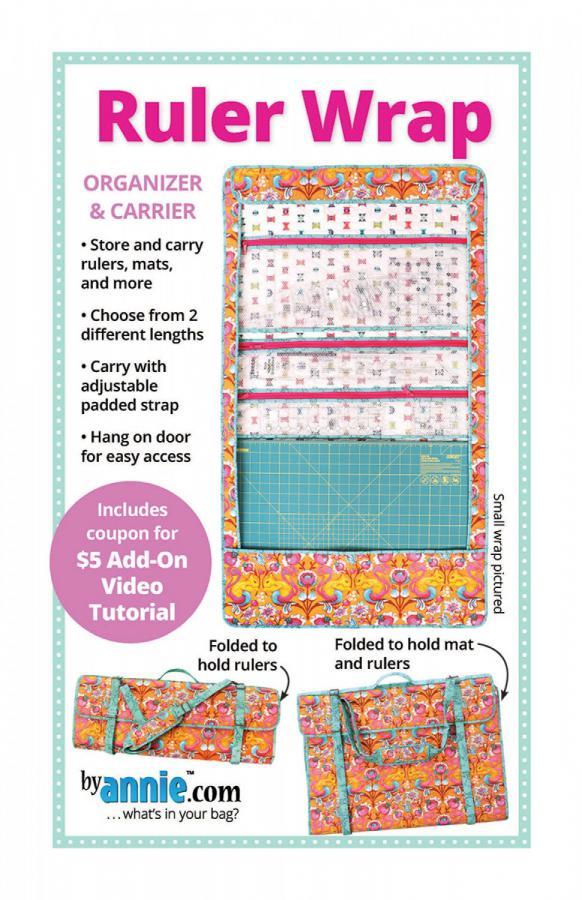 Ruler Wrap sewing pattern by Annie Unrein
