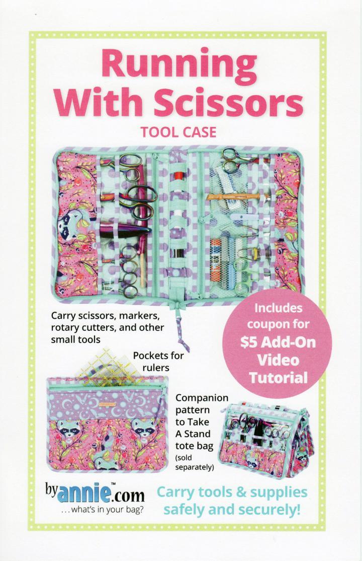 Running with Scissors sewing pattern by Annie Unrein