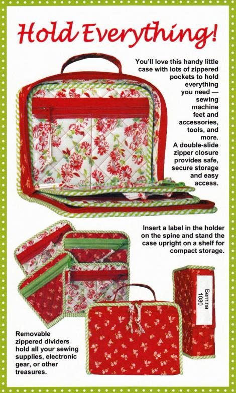 Hold Everything sewing pattern by Annie Unrein