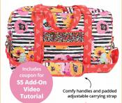 Round Trip Duffle sewing pattern by Annie Unrein 2