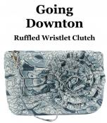 Going Downtown ruffled wristlet clutch sewing pattern by Annie Unrein 2
