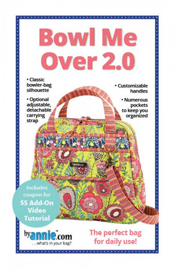Bowl Me Over 2.0 sewing pattern by Annie Unrein