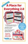 A Place For Everything 2.0 organizer/zippered case sewing pattern by Annie Unrein