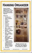 Hanging Organizer sewing pattern by Annie Unrein