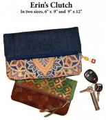 Erin's Clutch sewing pattern from Anything But Boring 2