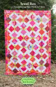 Jewel Box quilt sewing pattern from Anything But Boring