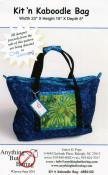 Kit 'n Kaboodle Bag sewing pattern from Anything But Boring - Janice D. Pope