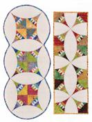 Pie and Ice Cream Table Runner sewing pattern from Anything But Boring